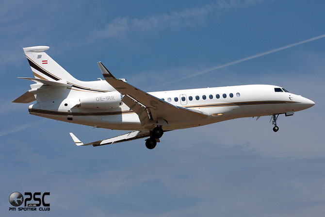 OE-IRR Falcon 7X 196 ART Aviation Flugbetriebs GnbH