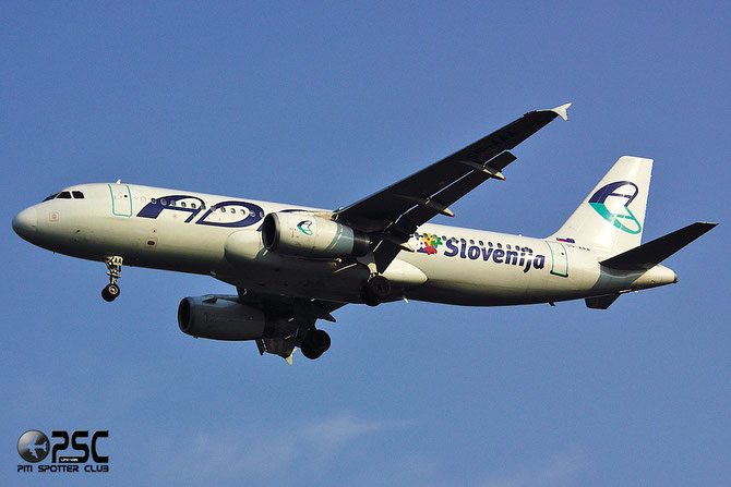 S5-AAA A320-231 43 Adria Airways