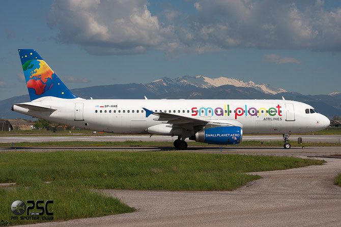 SP-HAB A320-232 1411 Small Planet Airlines Poland