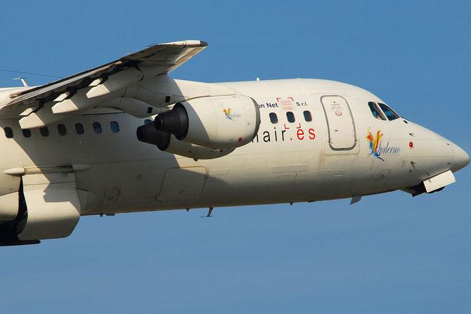 EC-JVJ BAe146-300 E3195 Orionair