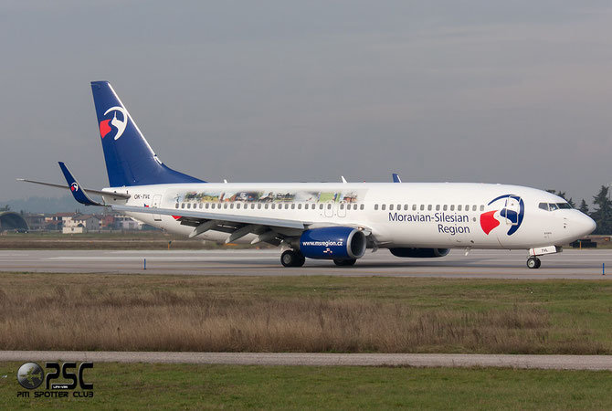 OK-TVL B737-8FN 37076/3147 Travel Service @ Aeroporto di Verona © Piti Spotter Club Verona