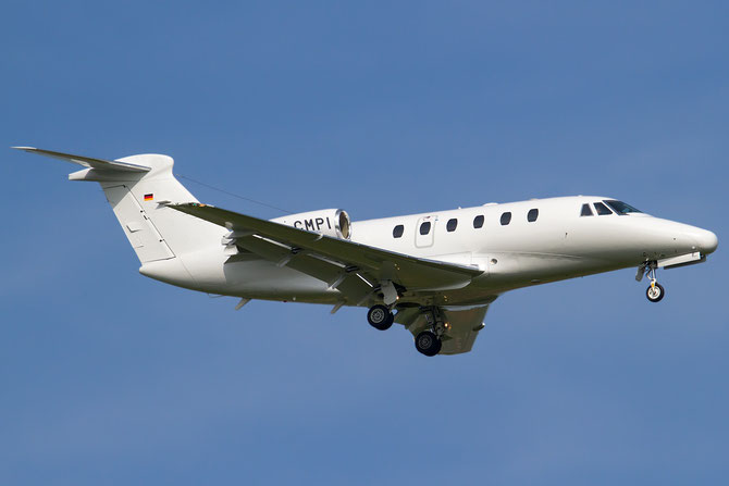 D-CMPI Ce650-VII 650-7055 SFD Stuttgarter Flugdienst @ Aeroporto di Verona © Piti Spotter Club Verona