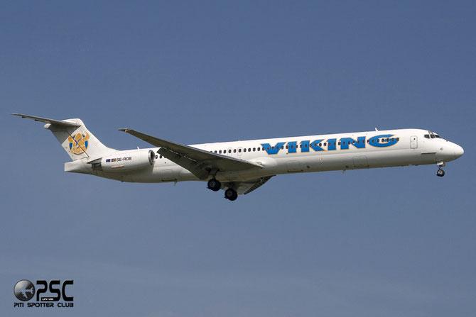 SE-RDE MD-83 49857/1687 Viking Airlines @ Aeroporto di Verona © Piti Spotter Club Verona