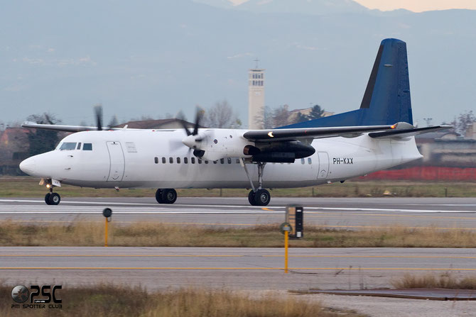 PH-KXX Fokker 50 20262 Denim Air