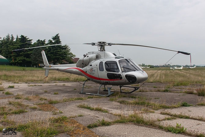I-AMLT Aerospatiale AS355 Ecureuil 2/ Twin Squirrel 2 @ Aeroporto Verona Boscomantico © Piti Spotter Club Verona