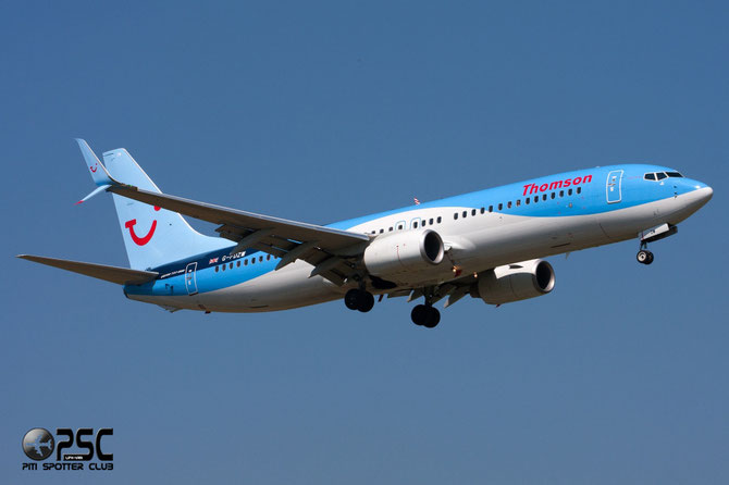 G-FDZW B737-8K5 37254/3586 Thomson Airways