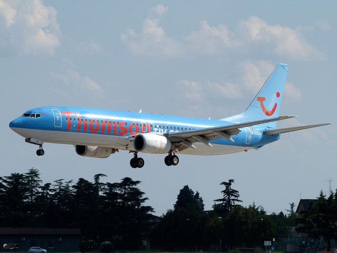 Boeing 737 Next Gen - MSN 28227 - G-CDZH @ Aeroporto di Verona © Piti Spotter Club Verona