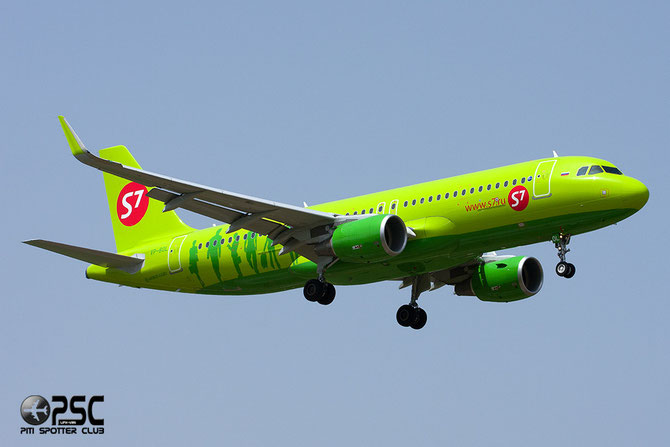 VP-BOL A320-214 6066 S7 Airlines