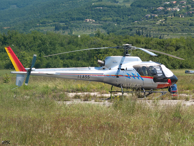 I-LASS - Heli West Eurocopter AS-350B-2 Ecureuil
