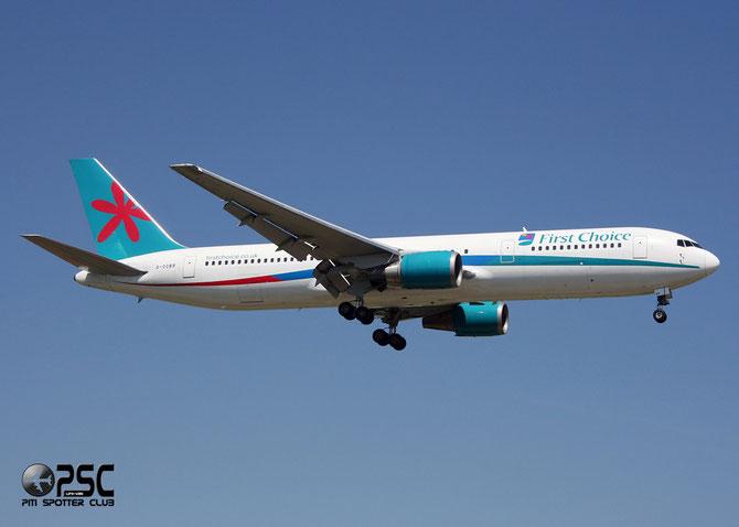 Boeing 767 - MSN 27568 - G-OOBM @ Aeroporto di Verona © Piti Spotter Club Verona