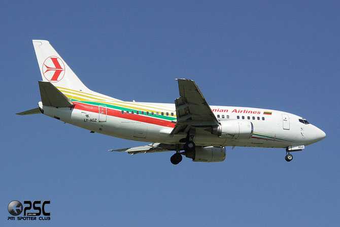 LY-AGZ B737-524 26340/2777 FlyLAL - Lithuanian Airlines