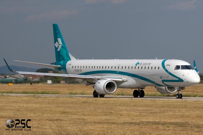 Embraer 190/195 - MSN 258 - I-ADJM  @ Aeroporto di Verona © Piti Spotter Club Verona