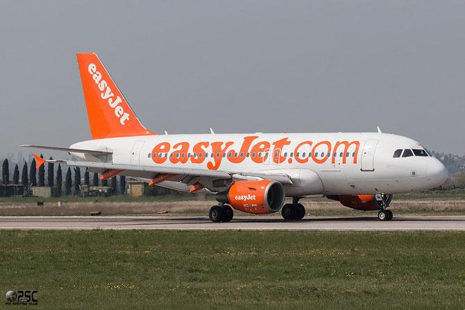G-EZSM A319-111 2062 EasyJet Airline @ Aeroporto di Verona © Piti Spotter Club Verona