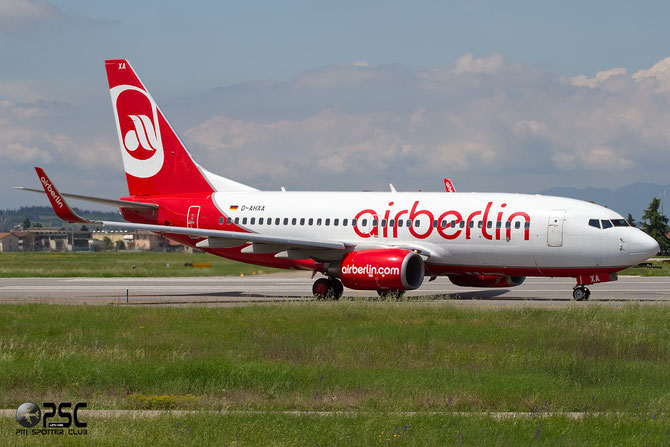 D-AHXA B737-7K5 30714/2202 Air Berlin