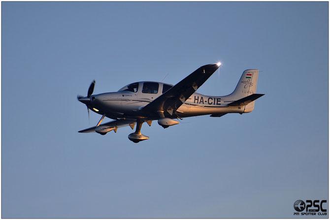 HA-CIE - Cirrus SR22-GTS - Private @ Aeroporto di Verona © Piti Spotter Club Verona