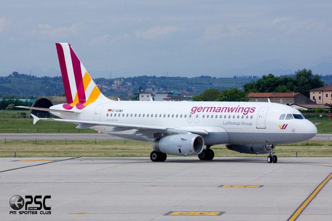 Airbus A319 - MSN 5569 - D-AGWX  @ Aeroporto di Verona © Piti Spotter Club Verona