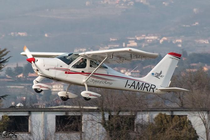 I-AMRR - Tecnam P92 Eaglet @ Aeroporto Verona Boscomantico © Piti Spotter Club Verona