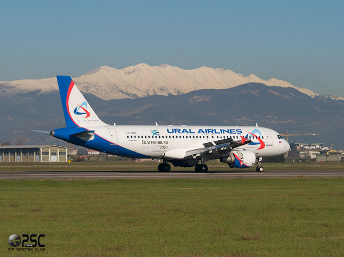 Airbus A320 - MSN 2998 - VQ-BRE @ Aeroporto di Verona © Piti Spotter Club Verona