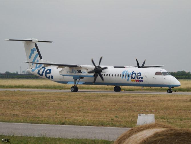 Dash 8 - MSN 4118 - G-JECM  @ Aeroporto di Verona © Piti Spotter Club Verona
