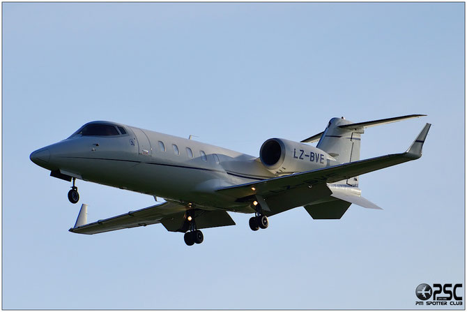 LZ-BVE Learjet 60XR 60-329 AVB-2004 Ltd.