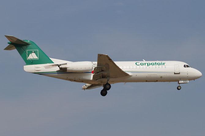 YR-KMA Fokker 70 11564 Carpatair