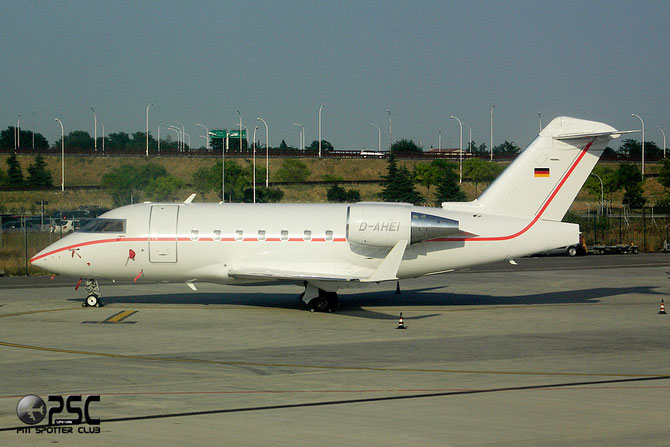 D-AHEI CL-604 5463 R & R Aviation Consulting GmbH