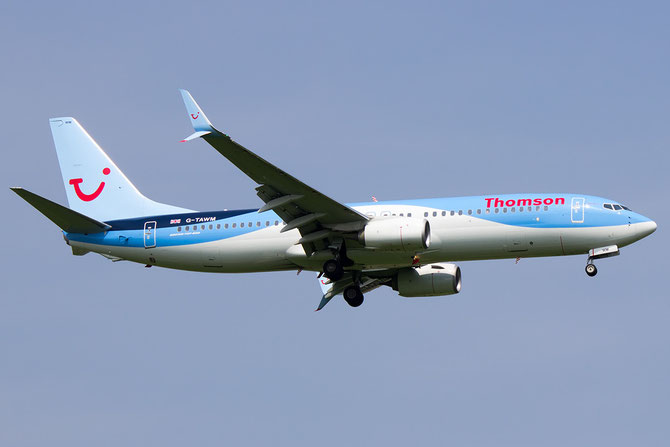 G-TAWM B737-8K5 37249/4360 Thomson Airways @ Aeroporto di Verona © Piti Spotter Club Verona
