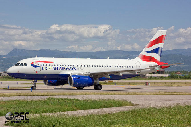 Airbus A319 - MSN 2429 - G-DBCE @ Aeroporto di Verona © Piti Spotter Club Verona