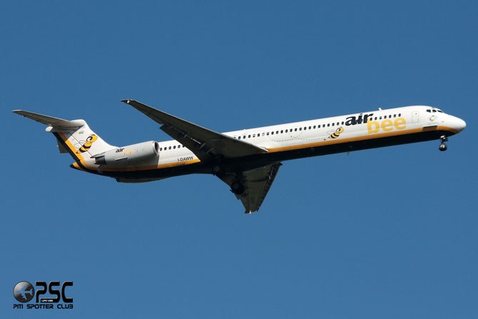 I-DAWW MD-82 49212/1233 Air Bee