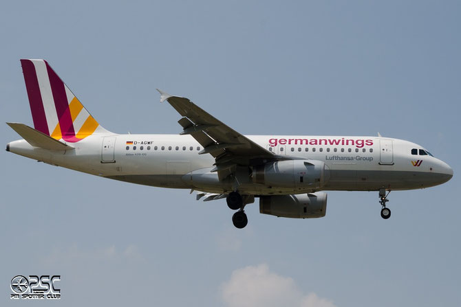 D-AGWF A319-132 3172 Germanwings