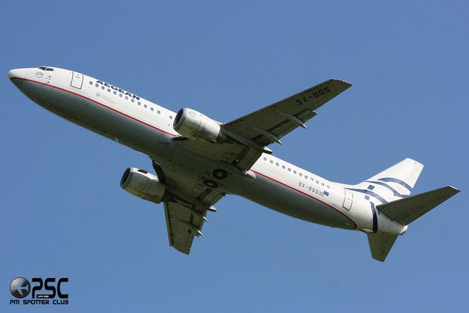 SX-BGS B737-4Q8 26279/2221 Aegean Airlines