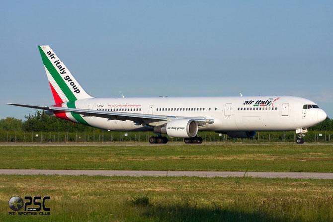 Boeing 767 - MSN 28039 - I-AIGJ @ Aeroporto di Verona © Piti Spotter Club Verona