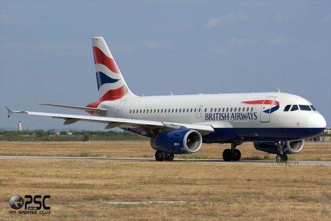 Airbus A319 - MSN 1082 - G-EUPA @ Aeroporto di Verona © Piti Spotter Club Verona