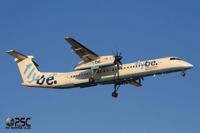 Dash 8 - MSN 4090 - G-JEDV  @ Aeroporto di Verona © Piti Spotter Club Verona