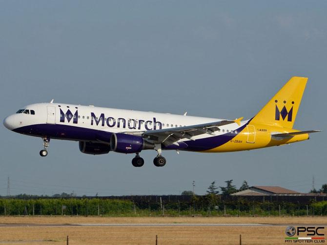G-ZBAH A320-214 1413 Monarch Airlines @ Aeroporto di Verona © Piti Spotter Club Verona