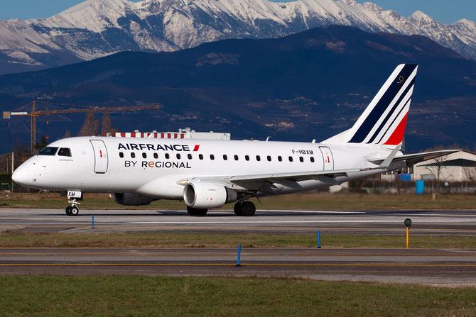 Embraer 170/175 - MSN 10 - F-HBXM  @ Aeroporto di Verona © Piti Spotter Club Verona