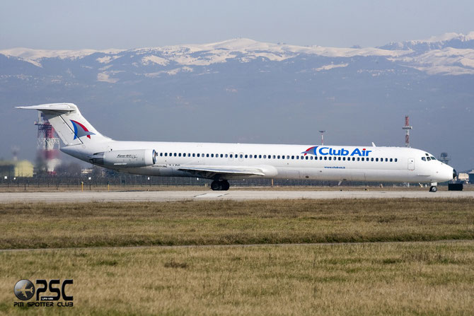 LZ-LDC MD-82 49217/1268 Club Air (Italy)