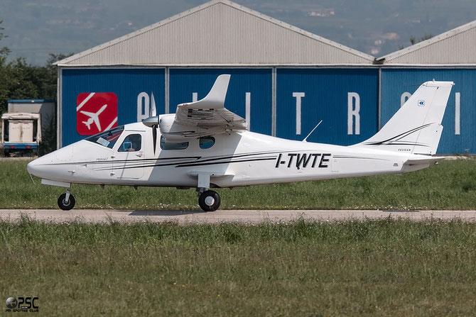 I-TWTE Tecnam P-2006T @ Aeroporto Verona Boscomantico © Piti Spotter Club Verona