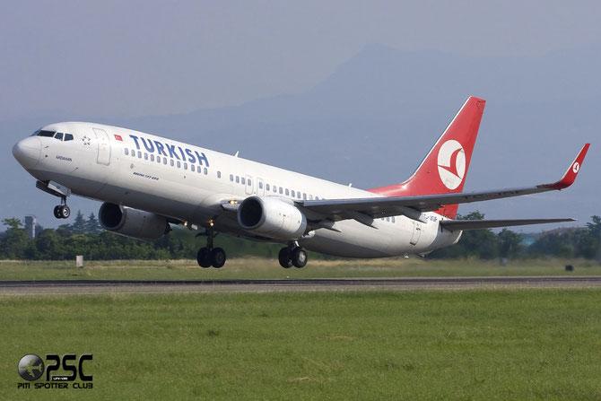 TC-JGF B737-8F2 29790/1088 THY Turkish Airlines - Türk Hava Yollari @ Aeroporto di Verona © Piti Spotter Club Verona