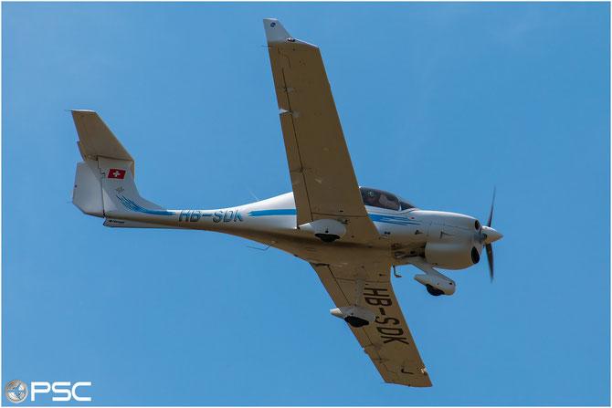 HB-SDK - Diamond DA40 NG @ Aeroporto di Verona © Piti Spotter Club Verona