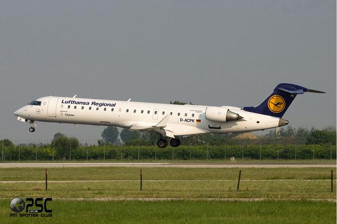 Canadair Regional Jet - MSN 10063 - D-ACPK  @ Aeroporto di Verona © Piti Spotter Club Verona