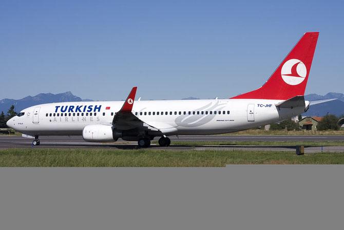 TC-JHF B737-8F2 35745/2748 THY Turkish Airlines - Türk Hava Yollari @ Aeroporto di Verona © Piti Spotter Club Verona