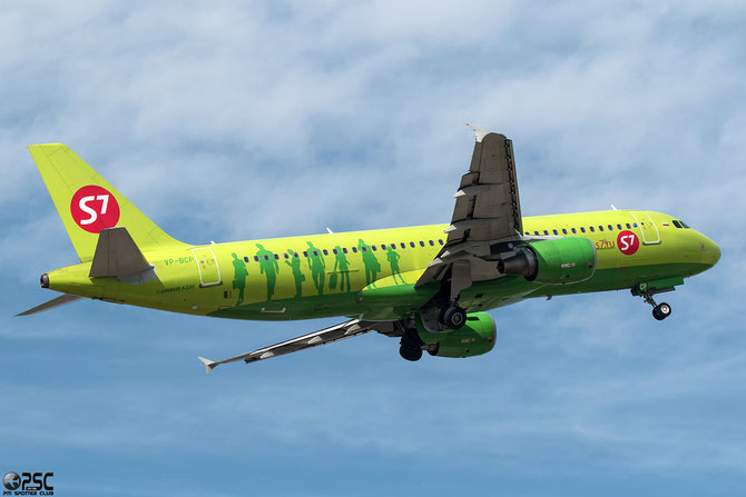 VP-BCP A320-214 3473 S7 Airlines
