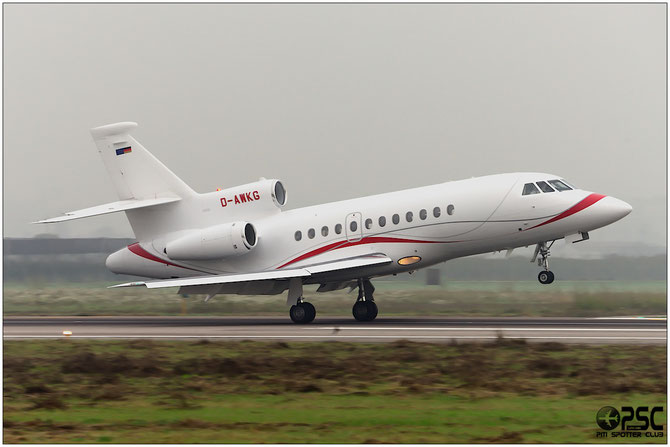 D-AWKG Falcon 900EX 20 Adolf Wurth & Co KG