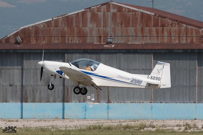 I-A290 Pioneer 200 Hawk @ Aeroporto Verona Boscomantico © Piti Spotter Club Verona