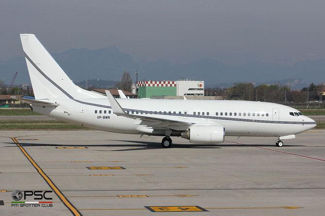 VP-BWR B737-79T 29317/265 Bel Air Ltd @ Aeroporto di Verona © Piti Spotter Club Verona