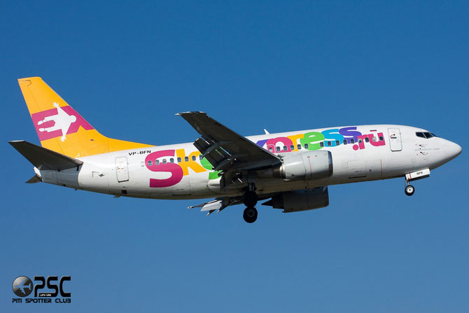Boeing 737 - MSN 24922 - VP-BFN  @ Aeroporto di Verona © Piti Spotter Club Verona