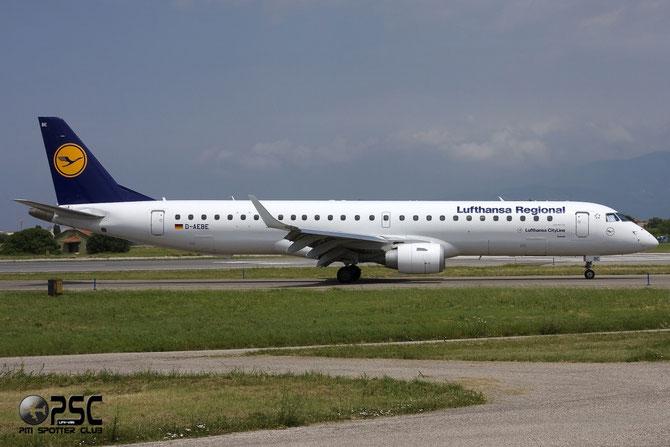 Embraer 190/195 - MSN 350 - D-AEBE @ Aeroporto di Verona © Piti Spotter Club Verona