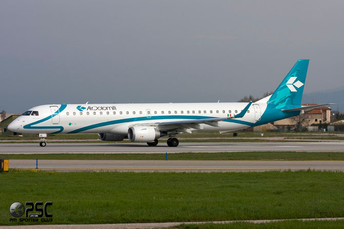 Embraer 190/195 - MSN 587 - I-ADJQ  @ Aeroporto di Verona © Piti Spotter Club Verona