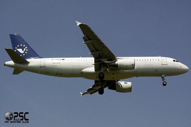 EC-ICN A320-214 1717 Volar Airlines @ Aeroporto di Verona © Piti Spotter Club Verona